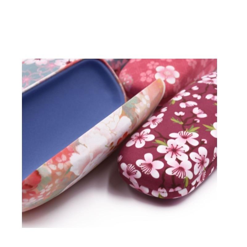 mehrfach Ems Dhl Fall Box Zipper Brillen Rosa Neue Geräumige Blume Sonnenbrille Kostenloser Blau Verschluss türkis Versand königliches Druck Zubehör PwZEgECqn