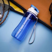Large Capacity Plastic Space Water Bottle For Girl Boy Outdoor Sports Travel Hiking Climbing Drinking Bottles 560ml 720ml Simple