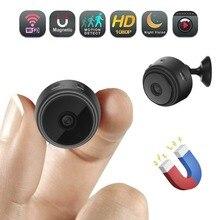 Wifi IP Mini Kamera Kablosuz Kızılötesi vücut kamerası Gece Görüş Hareket Algılama Mini DV Ses Video Kaydedici 1080 P HD Kamera