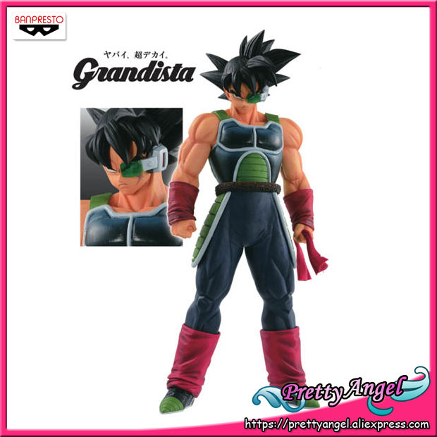 PrettyAngel Genuine Banpresto Resolution of Soldiers Grandista Vol 5 Dragon Ball Z Bardock Barduck Collection Figure