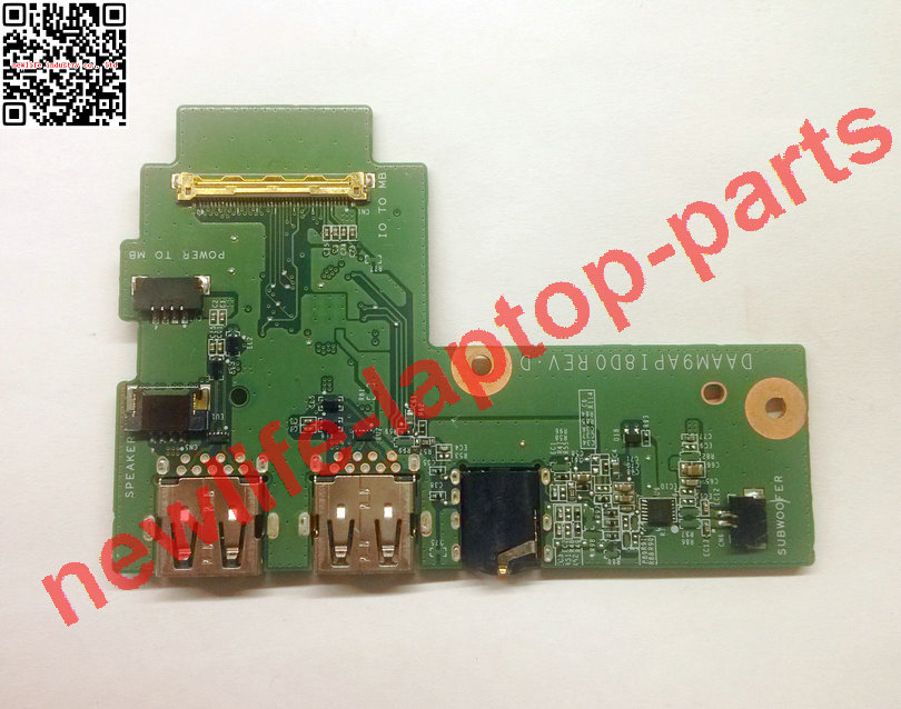 ФОТО Original 7559 Audio USB IO Board DP/N 0G5WGR G5WGR DAAM9API8D0 tested fully free shipping