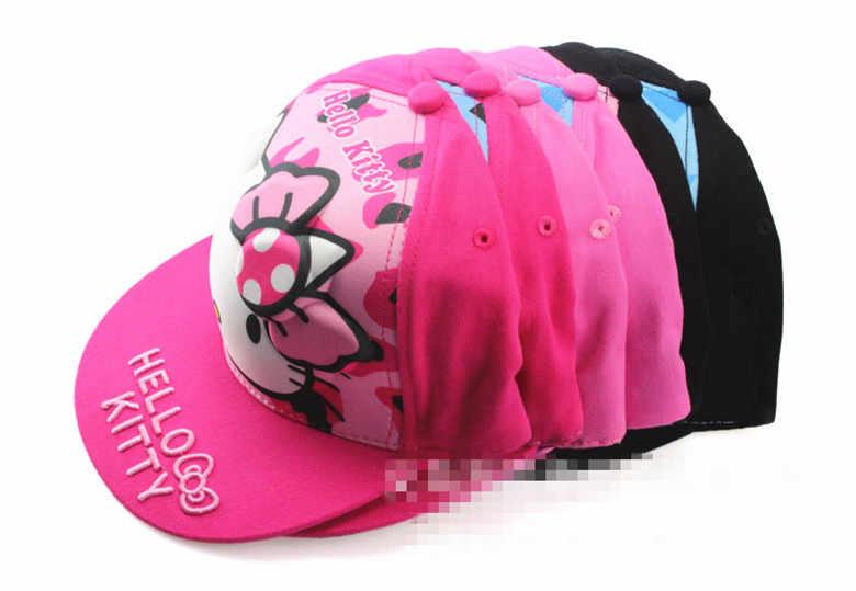 Новинка; 3D; Hello kitty; детская шапка для девочек; шапка; yey-5659
