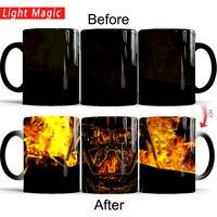 Star wars tasses star wars cadeaux tasses Darth Vader tasses morphing la chaleur révèlent café tasse chaleur changement de couleur magique thé tasses