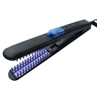 Newest Steam Fast Hair Straightener Brush Spray Flat Iron Comb Ceramic MCH Heating 150C 230C Safety