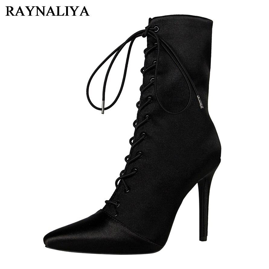 Autumn Winter Women Mid Calf Short Boots Shoes Woman Fashion Patchwork Thin Heels Solid Color Women Boots Black Pumps DS-B0133 рюкзак case logic 17 3 prevailer black prev217blk mid