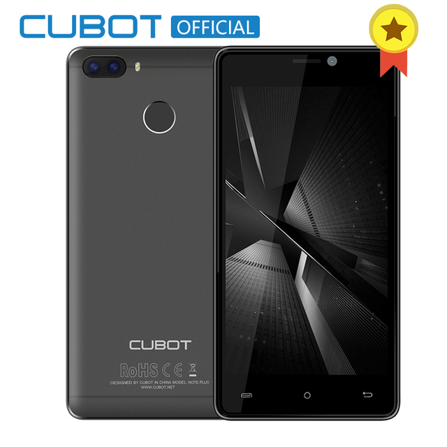 "Cubot H3 Fingerprint 5.0"" HD MT6737 Quad Core 3GB RAM 32GB ROM Smartphone Dual Cameras Android 7.0 Celular 6000mAh 4G LTE"