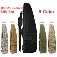 100cm Tactical Rifle Scabbard Outdoor Hunting Backpack Holster Assault Shotgun Bag Cases
