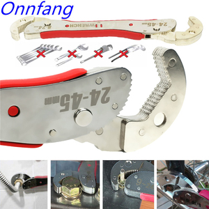Image 4 - Hot Adjustable Spanner Multi function Universal Wrench Tool Home Repair Key Hand tool Multi Purpose Universal Pipe Wrench