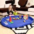 150 cm Brinquedo de Criança Portátil Saco De Armazenamento Tapete Caixa Cobertor Esteira do Jogo Brinquedos Bolsa