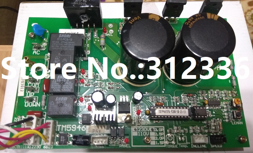 Free Shipping TM5946 induction Motor Controller treadmill motherboard control circuit computer control board fast shipping dc motor for treadmill model a17280m046 p n 243340 pn f 215392