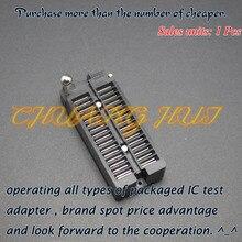 Pitch=2.54mm DIP32 test socket IC SOCKET