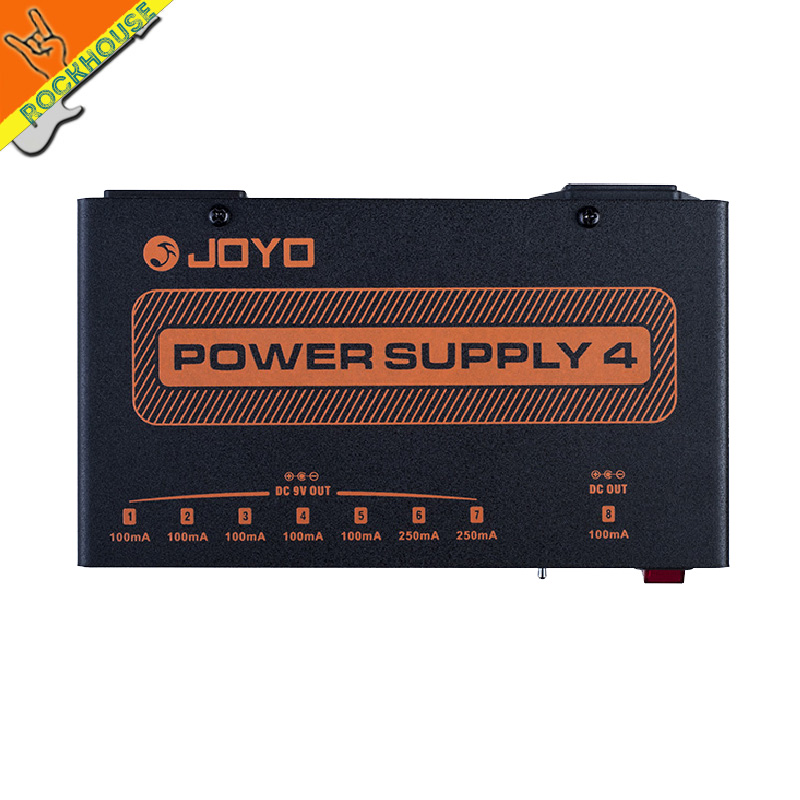 JOYO Real Isolated Guitar Pedal Power Supply Guitarra Linear Power Supply Voltage Protection 9V 100ma 250ma 12v/18V Adjusable