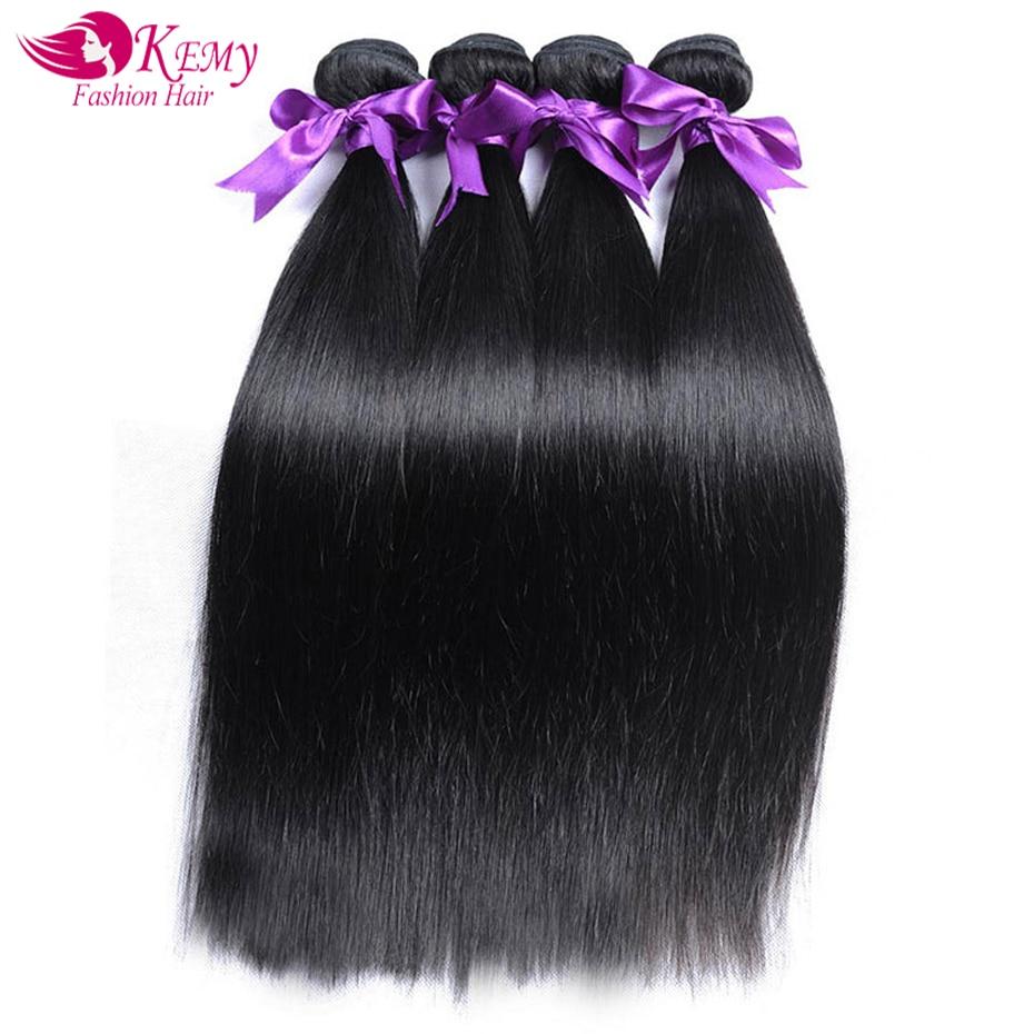 Techniques Kemy Brazilian Hair Weave Bundles Straight Remy Hair