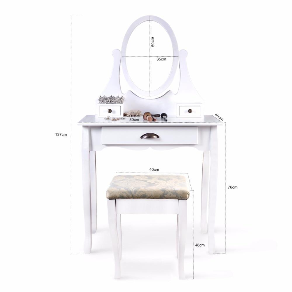 Hermosa Vanidad Muebles Heces De Mesa Adorno - Muebles Para Ideas de ...