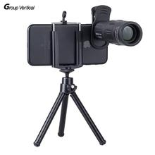 On sale Group Vertical 18X Telescope Zoom Mobile Phone Lens for iPhone Samsung cell Smartphones clip Telephonto Camera Lens with tripod