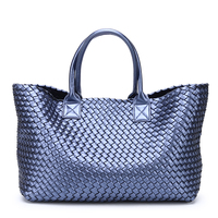 2019 Brand Design Woven Handbags For Women Bales Fashion Tide Weave Hand Shoulder Lady Large capacity Purse Shopping Basket Bag