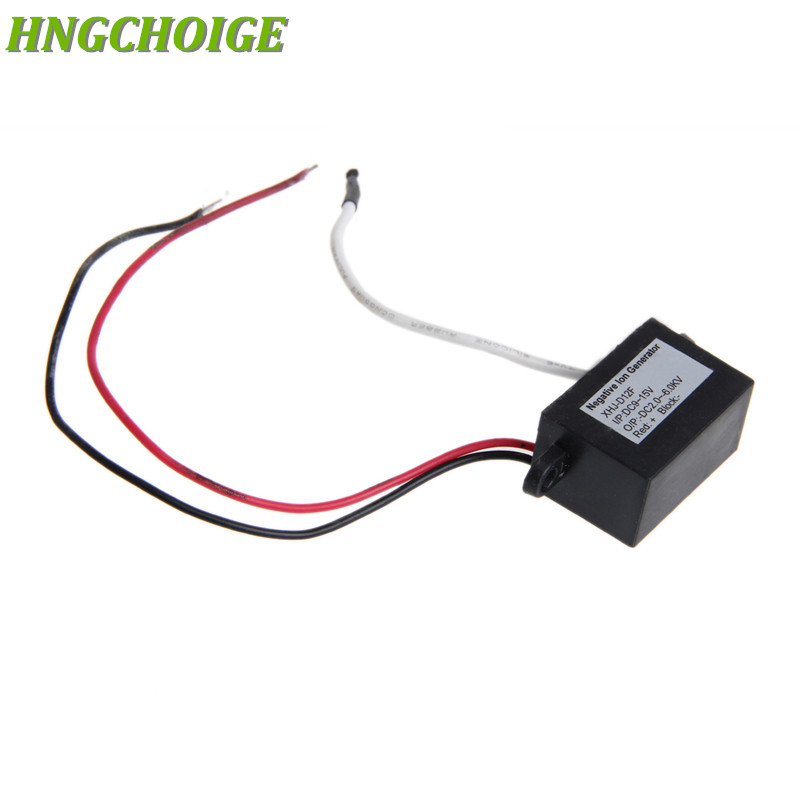 HNGCHOIGE Air Purifier Ionizer Negative Ion Anion Generator DC12V Purifier Cleaner Car