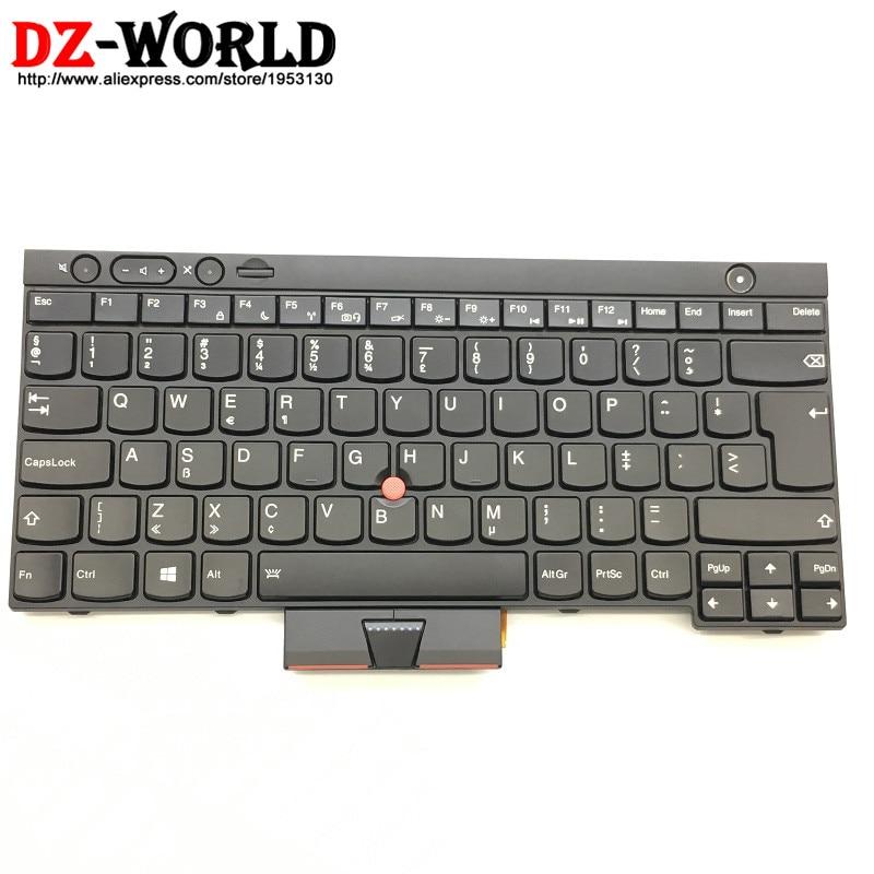 New Original for Thinkpad X230 X230i X230T X230 Tablet Backlit Dutch Keyboard Backlight Teclado 04Y0547 04X1372 04Y0658 0C01942 us new original laptop keyboard for ibm thinkpad x230 t430 t530 w530 us black keyboard with backlit