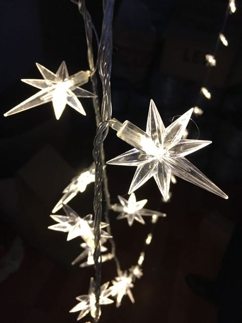 Us 22 99 Multicolor 10m 20m 30m 100 200 300 Led Fairy String Lights Polaris North Star Christmas Tree Outdoor Wedding Decor Holiday In