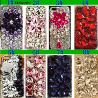 S Luxury Crystal Rigid Bling Rhinestone Plastic Hard Case Cover For IPhone 7 7Plus 6S Plus