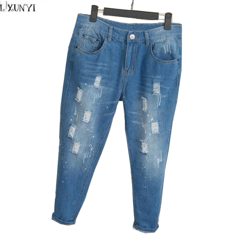 Online Get Cheap Ripped Boyfriend Jeans -Aliexpress.com | Alibaba ...
