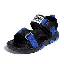 COZULMA Kids Beach Sandals Boys Girls Summer Shoes Big Non- Slip Children Outdoor Sneaker Size 27-38