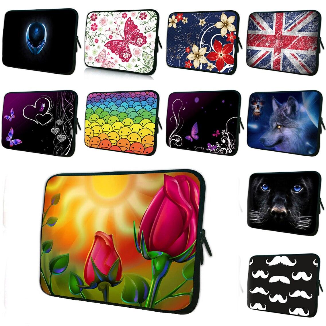 Tablet 10.1 Netbook Shell Inner Cases 7 8 9.7 10 11.6 Mini PC Women Bag Pouch Neoprene 12 13 14 15.6 17 17.4 Female Laptop Bags