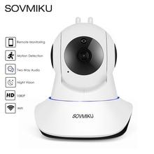 Cloud Wireless IP Camera 1080P 2-way Audio Baby Monitor Camera IR 24h Home Security Surveillance CCTV Network Mini WiFi Camera цена в Москве и Питере
