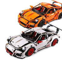 LEPIN 20001 Technic Series Race Car Model 20001B Building Kit Blocks Bricks Set Educational Boy S