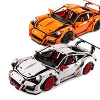 LEPIN 20001 Technic Series Race Car Model 20001B Building Kit Blocks Bricks Set Educational Boy S