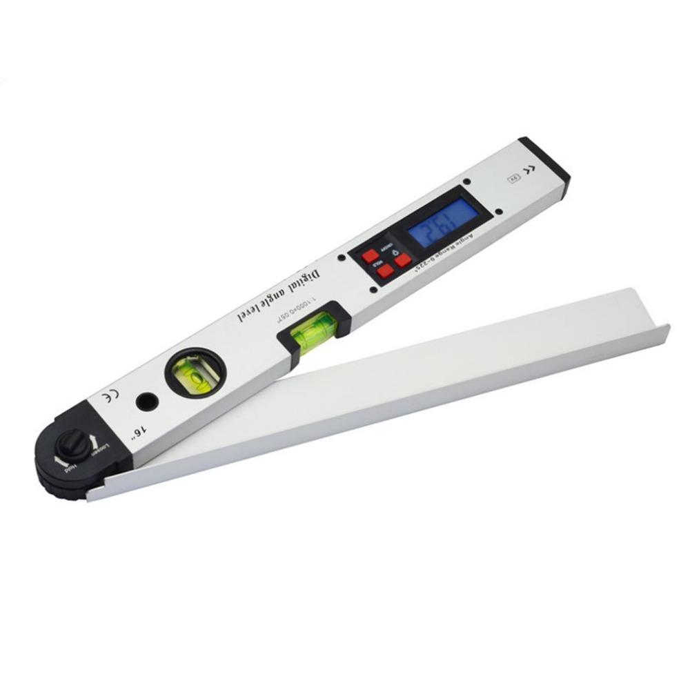 400mm/16inches 0~225 Degree Professional Infrared Protractor Electronic Laser Spirit Level Digital Display Angle Meter dunlop winter maxx wm01 225 55 r17 101t