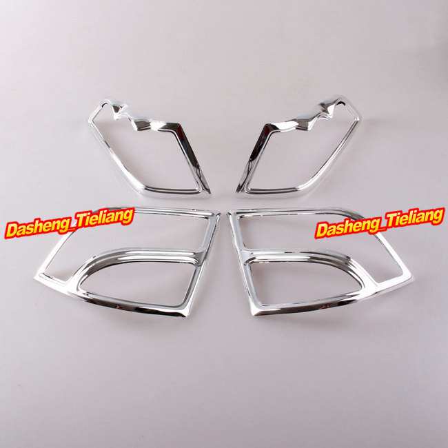 Fairing Saddlebag Light Accents for Honda Goldwing GL1800 2001-2011 Decoration Boky Kits Parts Accessories Chrome, Brand New