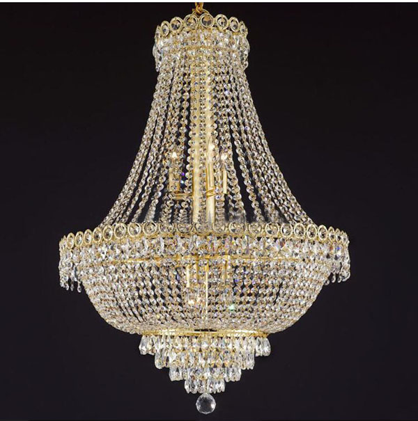 Modern Crystal Chandelier Light Fixture Classic Crystal Chandelier Light Gold Or Chrome , Guaranteed 100%+Free shipping!