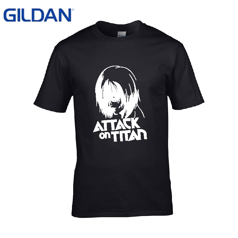 Mens white t shirts Titan Annie 2 homme black tshirts No buckle good quality tee shirt S-4XL Hip-Hop Brand-Clothing simple sale