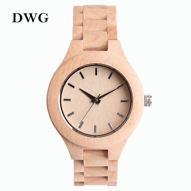 Zegarek damski drewniany DWG 2 kolory
