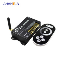 touch switch for led strip single color rf led dimmer 12v 24v controller 2.4G wireless remote control 4 group control 16A