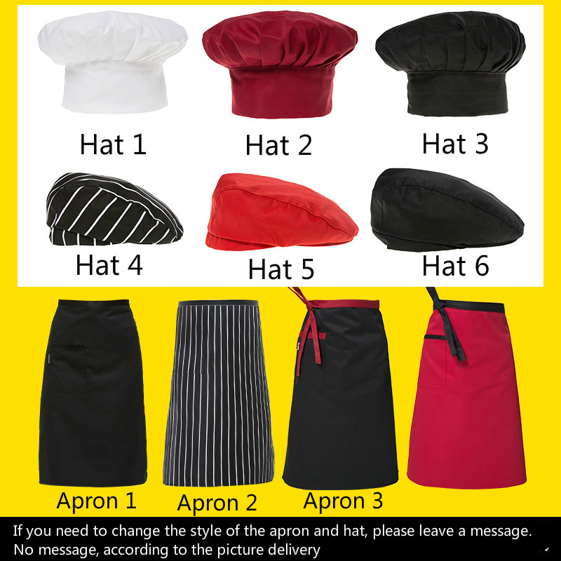 Image 5 - Unisex Chef Uniform Food Service Cook Jacket Long /Short Sleeve Kitchen Work Clothes Pastry Bakery Restaurant Cooking Overalls-in Chef Jackets from Novelty & Special Use