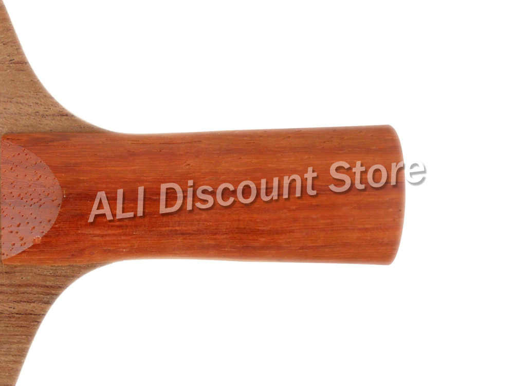 Sanwei H1 ( H 1, H-1 ) Rosewood, 5 Plywood + 2 Soft Carbon OFF+ Table Tennis Blade for PingPong Racket