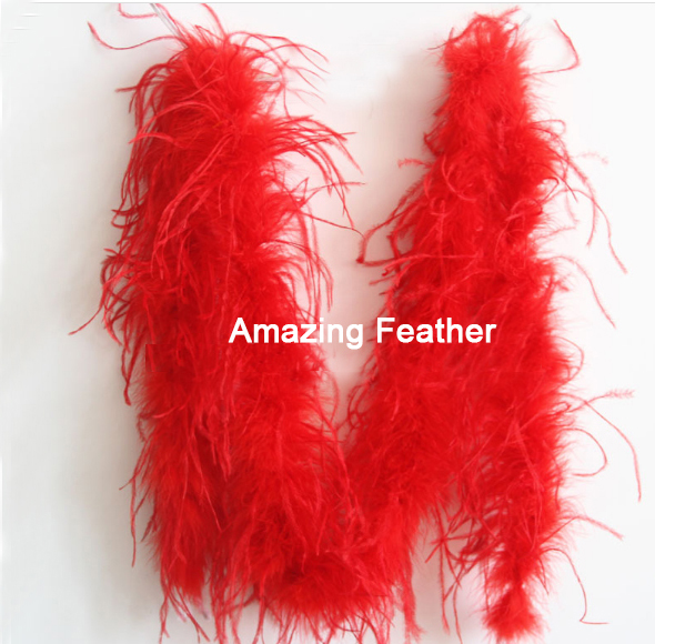 Free shipping 10yard/lot Purple quality dyed 5ply OSTRICH FEATHER BOA with turkey feather boa for Party/Costume/Shawl/Craft