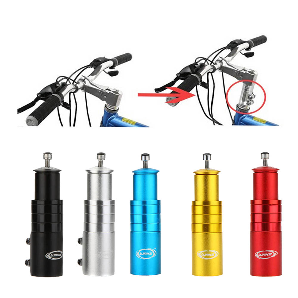 Mountain Bike Stem Fork Extender Bicycle Handlebar MTB Raiser Head Up Adapter UK