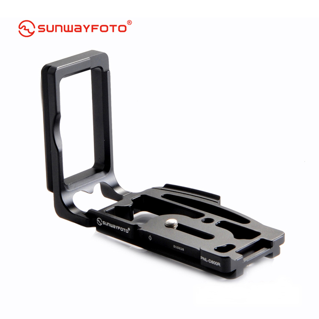 Free shipping SUNWAYFOTO Custom L plate bracket  for Nikon D800 camera PNL-D800  Arca, Really Right Stuff, Benro compatible