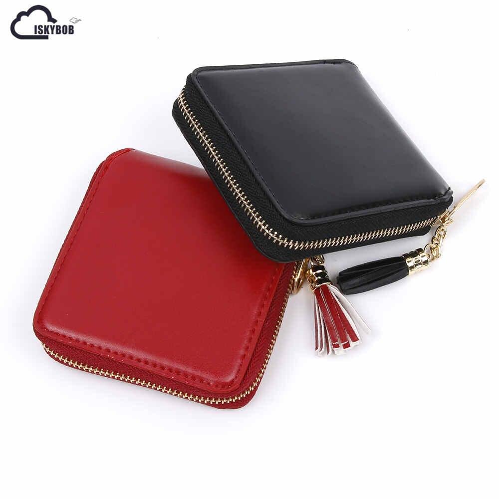 New Fashion Women Lady PU Leather Clutch Wallet Mini Card Holder Purse Handbag Minipurse short styles стоимость