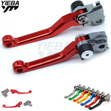FOR HONDA CRM250R 94-98 XR400MOTARD 05-08 XR250/MOTARD 95-07 XR230/MOTARD Universal Dirt Bike Motorcycle Brake Clutch Levers