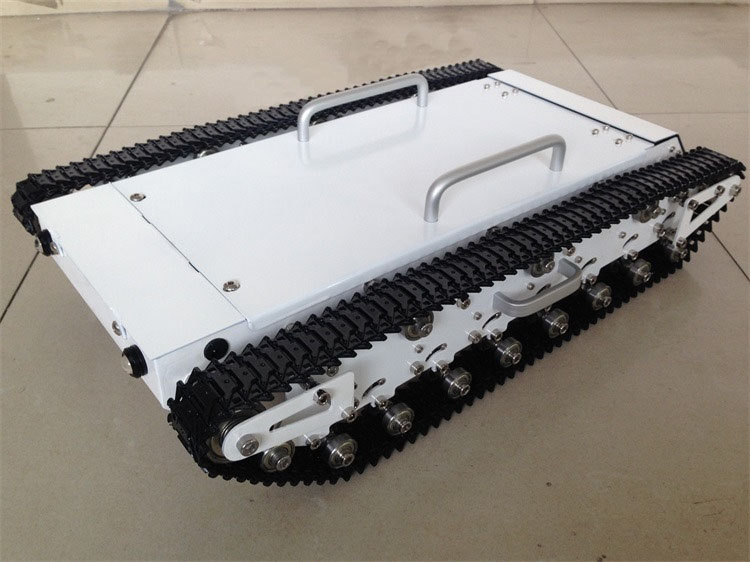 DOIT WT500 Big Tracked Tank Chassis with Load Carry more than 20kg! Obstacle-surmounting Robot Parts for DIY Robot Project diy tracked robot