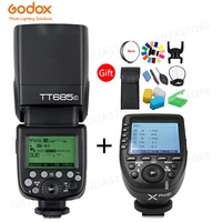Godox TT685C TTL Camera Flash 2.4GHz High Speed 1/8000s GN60 + Xpro C TTL Wireless Transmitter for Canon Eos Camera+Gift