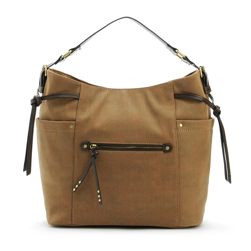 PU leather women handbags fashion tote bag female new sale rivet shoulder bags b