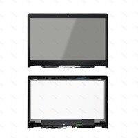 Para Lenovo YOGA 3 14 80JH 80QD Yoga Série 700-14ISK NV140FHM-A10 Toque Digitador de Vidro + LCD Assembléia Screen Display com quadro