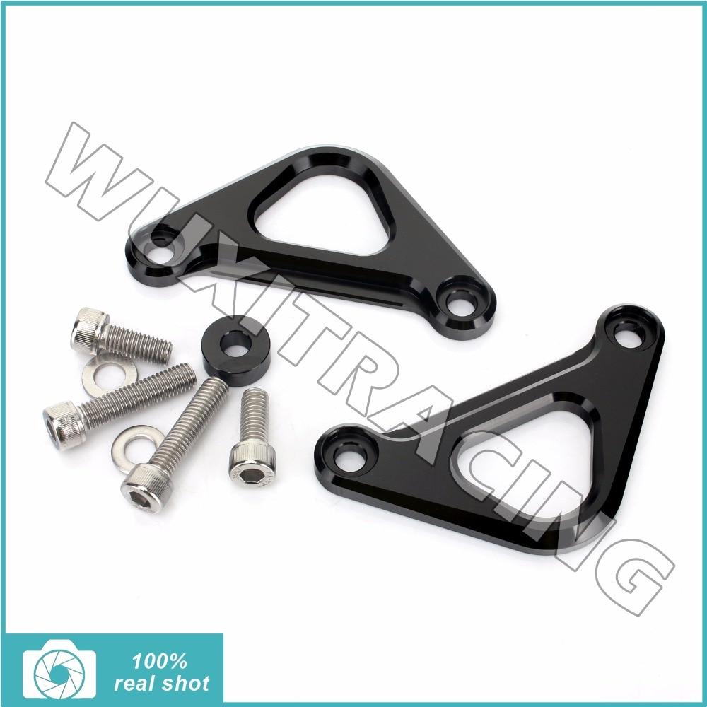 ФОТО Anodized New CNC Racing Hooks Billet Aluminium Alloy for Kawasaki NINJA 250R 08 09 10 11 12 NINJA 300 13 14 15 16