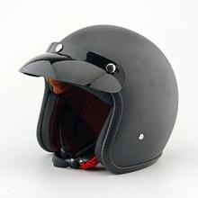 Бренд каско старинных мотоциклов шлемы мужчина женщины harley скутер шлем pilot открытым лицом vespa шлем паре moto