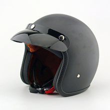 Marca casco cascos de motocicleta hombre mujer harley scooter casco jet pilot open face casco casco de moto pare